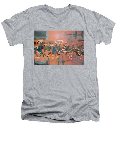 Dance Party Men's V-Neck T-Shirt