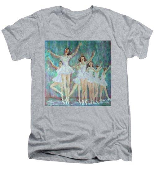 Dance Rehearsal Men's V-Neck T-Shirt