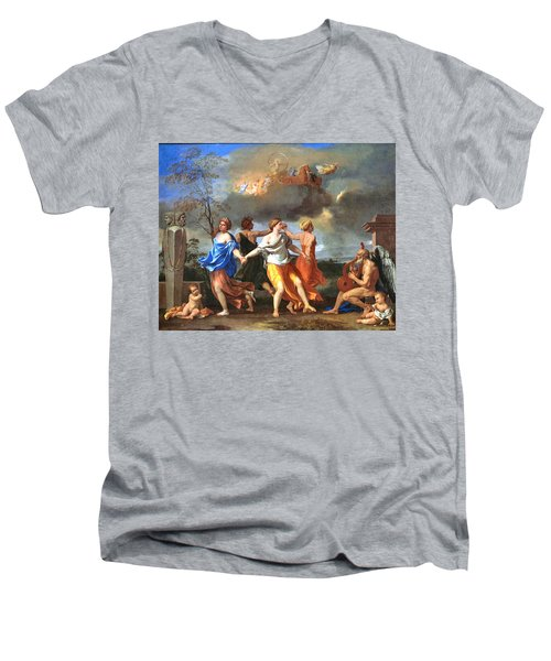 Dance To The Music Of Time  Men's V-Neck T-Shirt
