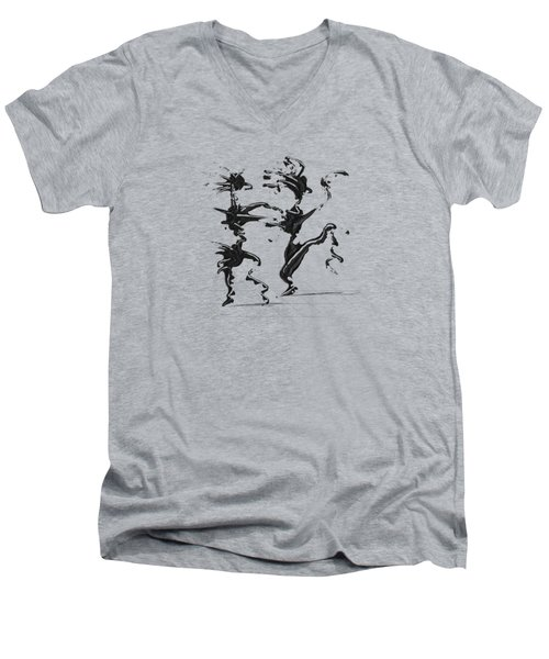 Dancing Couple 4 Men's V-Neck T-Shirt