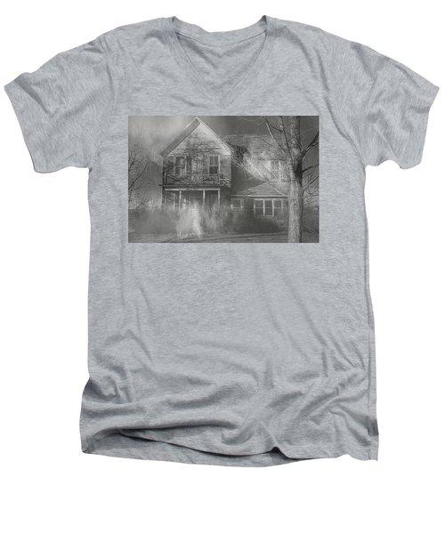 Dancing Ghosts Men's V-Neck T-Shirt