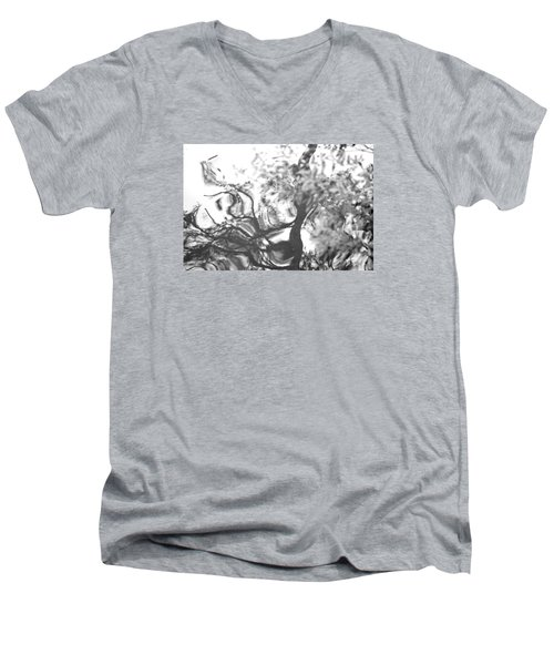 Dancing Leaves Men's V-Neck T-Shirt