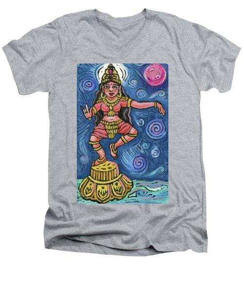 Dancing Parvati Men's V-Neck T-Shirt