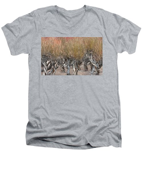 Dancing Trees Men's V-Neck T-Shirt