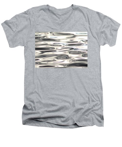 Men's V-Neck T-Shirt featuring the photograph Dancing With Light by Cathie Douglas