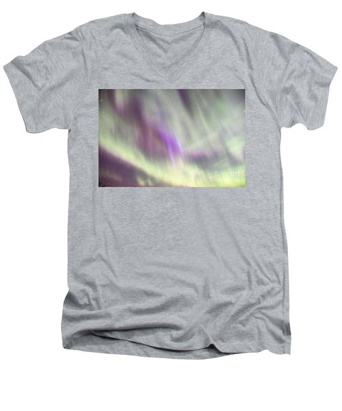 Men's V-Neck T-Shirt featuring the photograph Dancing With The Stars by Larry Ricker
