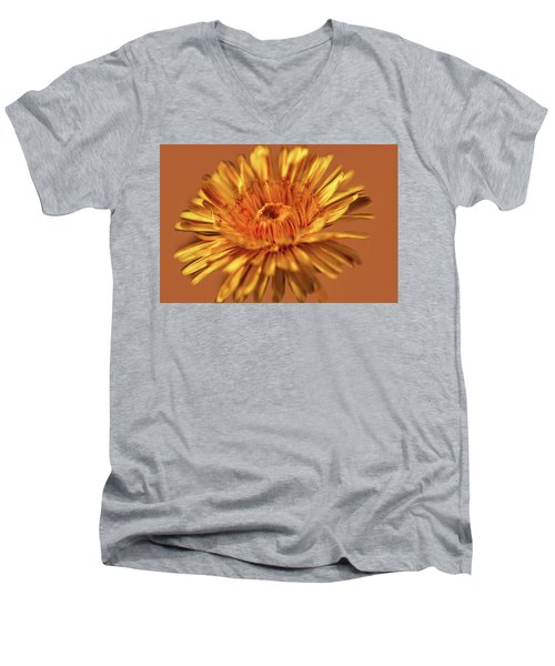 Dandelion Close #g3 Men's V-Neck T-Shirt