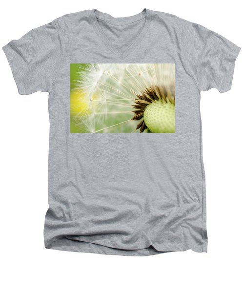 Dandelion Fluff Men's V-Neck T-Shirt