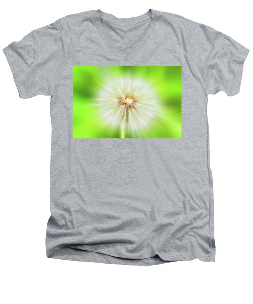 Dandelion Warp Men's V-Neck T-Shirt