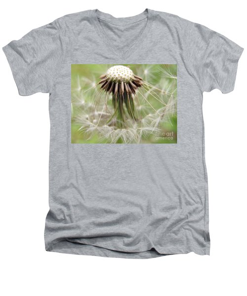 Dandelion Wish 8 Men's V-Neck T-Shirt