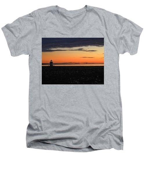 Dandelion Wishes Men's V-Neck T-Shirt