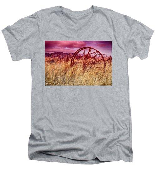 Dangberg Home - Farm Machinery Men's V-Neck T-Shirt