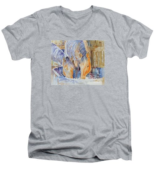 Dappled Sunlight Men's V-Neck T-Shirt