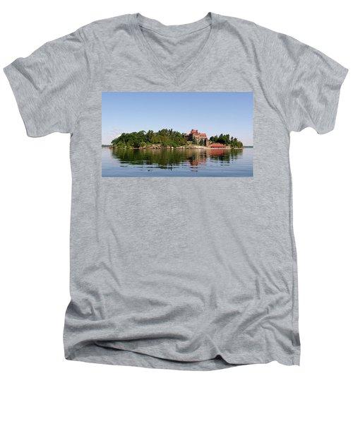 Dark Island Men's V-Neck T-Shirt