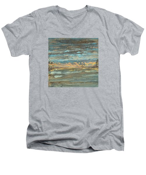 Dark Serene Men's V-Neck T-Shirt