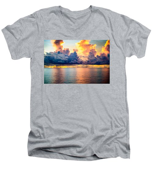 Dark Skies Men's V-Neck T-Shirt