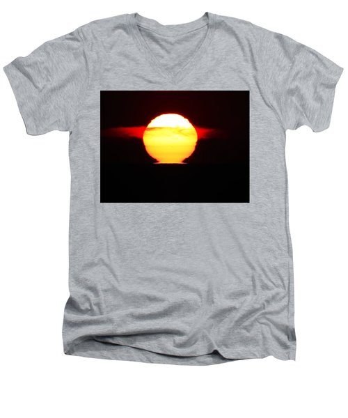 Dark Sunrise Men's V-Neck T-Shirt