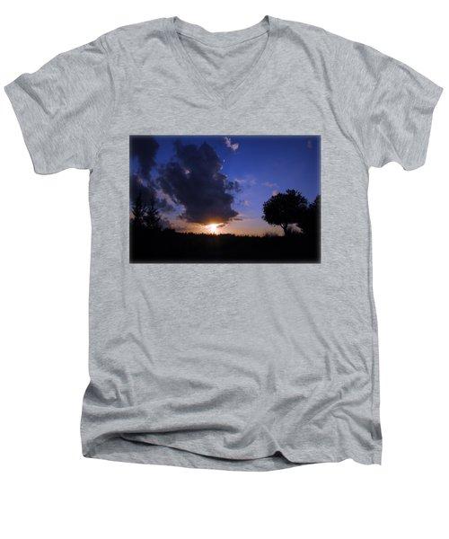 Dark Sunset T-shirt 2 Men's V-Neck T-Shirt