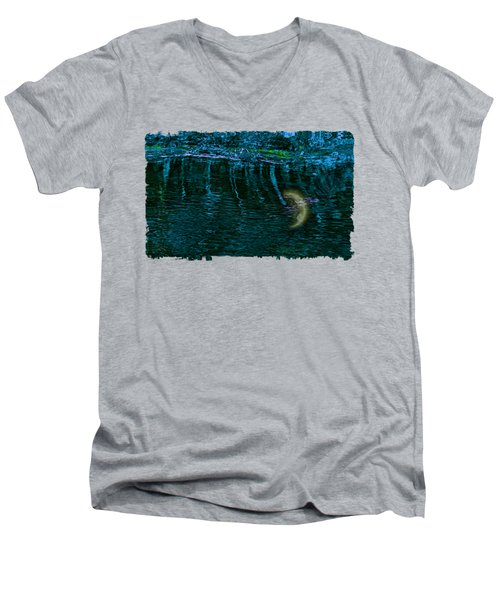 Dark Waters 2 Men's V-Neck T-Shirt by John M Bailey