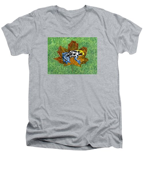Dart Poison Frog Men's V-Neck T-Shirt