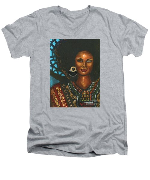 Dashiki Men's V-Neck T-Shirt