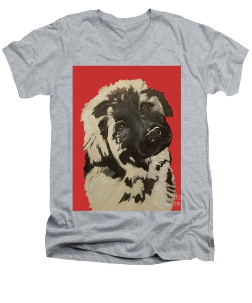 Date With Paint Sept 18 5 Men's V-Neck T-Shirt
