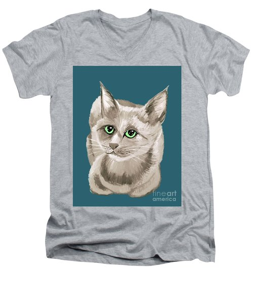 Date With Paint Sept 18 2 Men's V-Neck T-Shirt