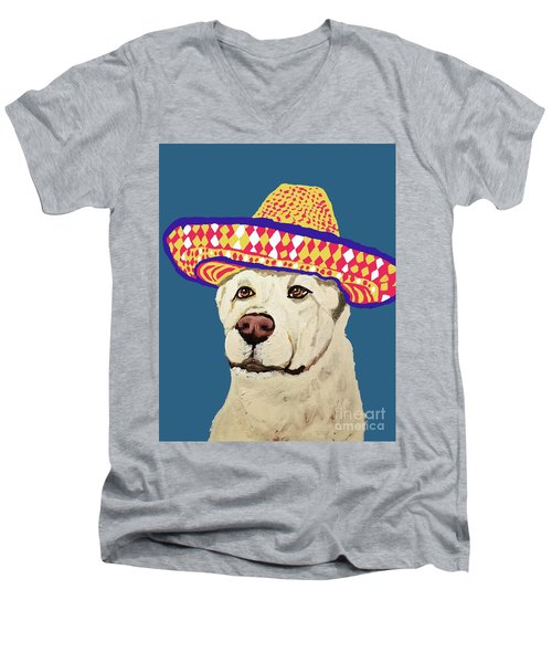 Date With Paint Sept 18 4 Men's V-Neck T-Shirt