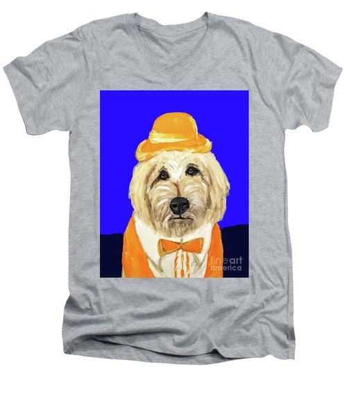 Date With Paint Sept 18 6 Men's V-Neck T-Shirt