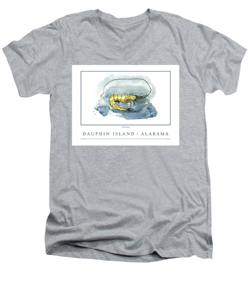 Dauphin Island, Alabama Men's V-Neck T-Shirt