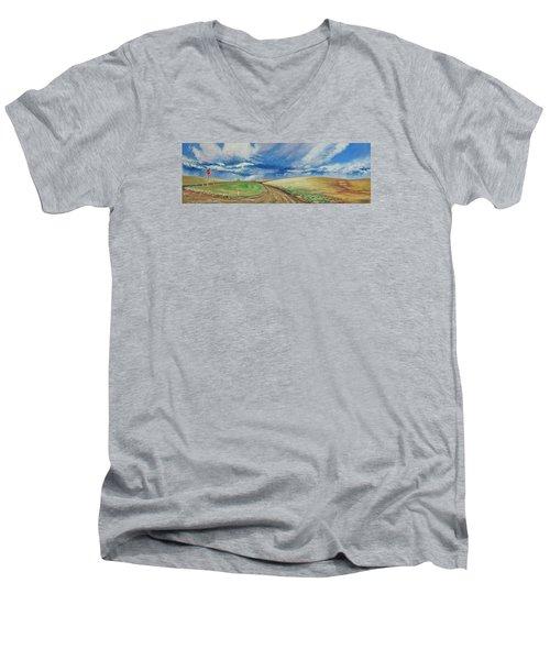 Davenport Men's V-Neck T-Shirt
