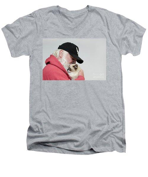 David And Mr Atkin Men's V-Neck T-Shirt