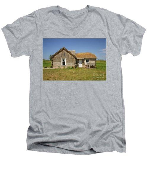 Davis Cabin Men's V-Neck T-Shirt