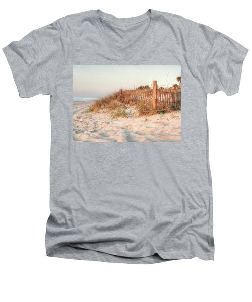 Dawn At 82nd Men's V-Neck T-Shirt