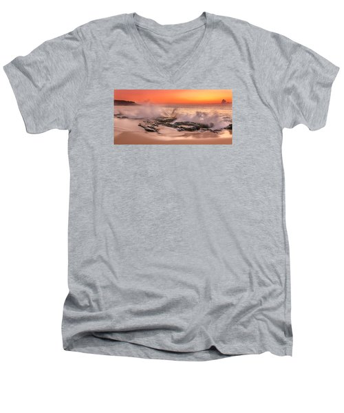 Day Break Men's V-Neck T-Shirt