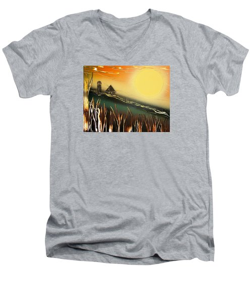 Daybreak Men's V-Neck T-Shirt
