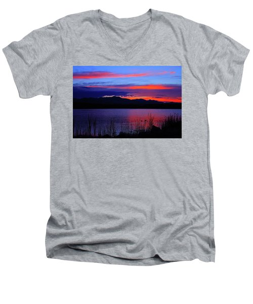 Daybreak Sunset Men's V-Neck T-Shirt