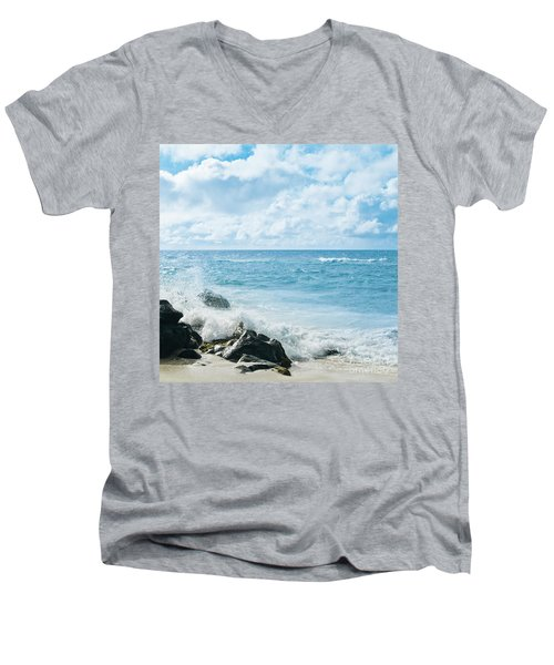 Men's V-Neck T-Shirt featuring the photograph Daydream by Sharon Mau