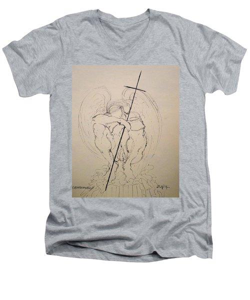 Daydreaming Of The Return To Love Men's V-Neck T-Shirt