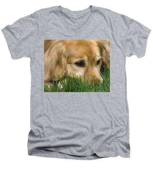 Daydreaming Men's V-Neck T-Shirt