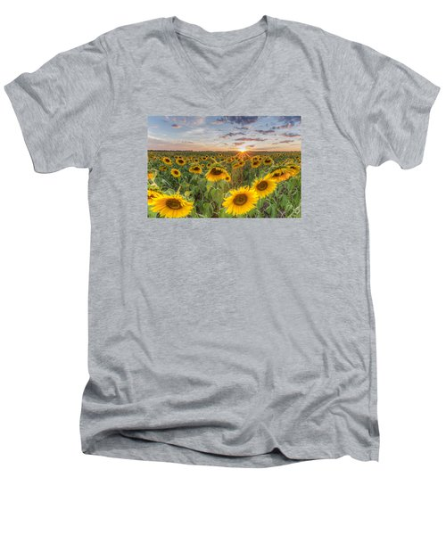 Day's End Men's V-Neck T-Shirt