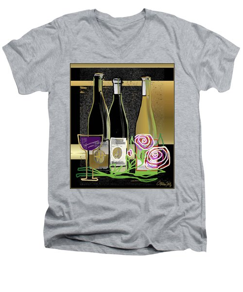 Days Of Wine And Roses Men's V-Neck T-Shirt