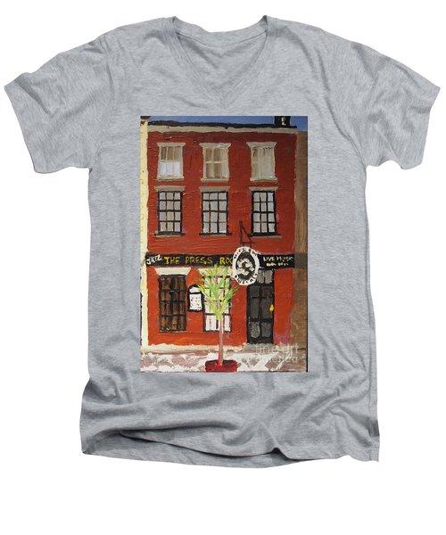 Daytime Press Room Men's V-Neck T-Shirt