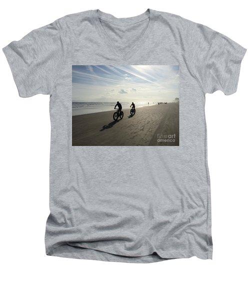 Daytona Beach Bikers Men's V-Neck T-Shirt