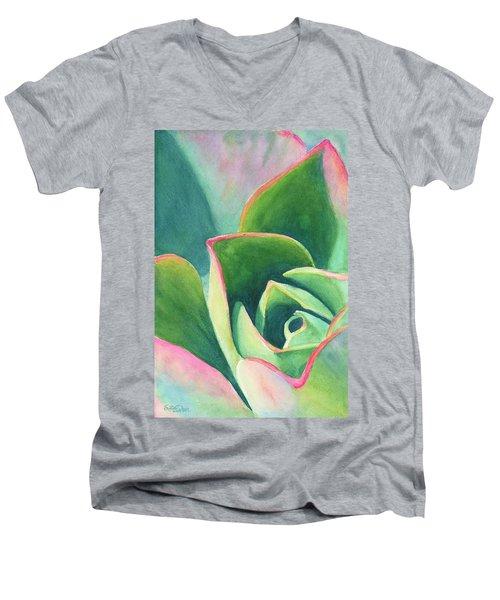 Dazzling Like A Jewel Men's V-Neck T-Shirt