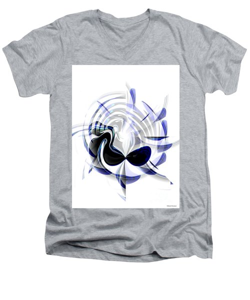 Dazzling Mask Men's V-Neck T-Shirt by Thibault Toussaint