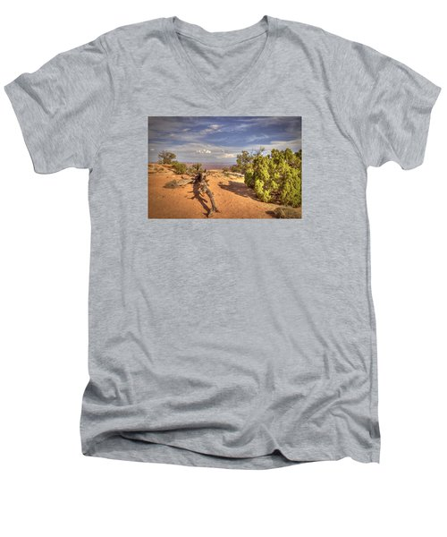 Dead Cedar Canyonlands Men's V-Neck T-Shirt