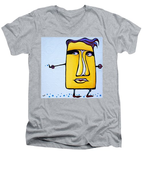 Deadly Doris Men's V-Neck T-Shirt