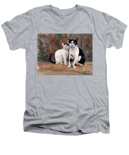 Deano And Sparky Men's V-Neck T-Shirt