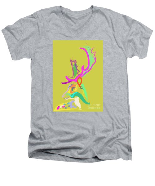 Dear Deer Men's V-Neck T-Shirt